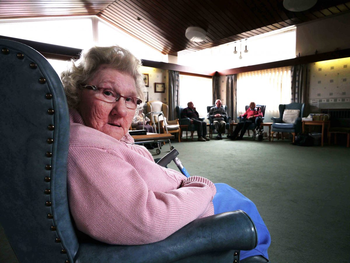 Ann in a Respite Care Home